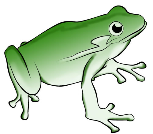 free frog clip art to download frog 15 2 rh frog life cycle com frog clipart black and white frog clip art images free